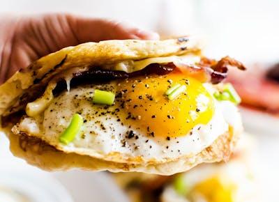 american breakfast taco paco