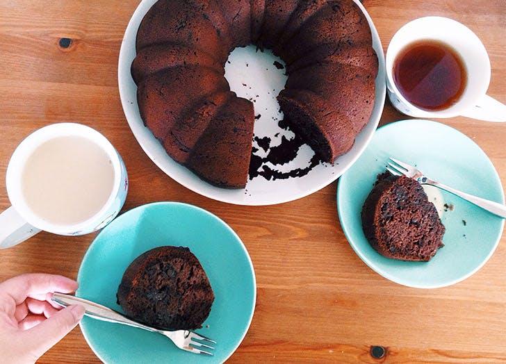 cake for bfast