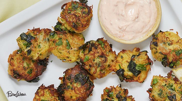 These Spaghetti Squash Fritters Are Kind of Amazing