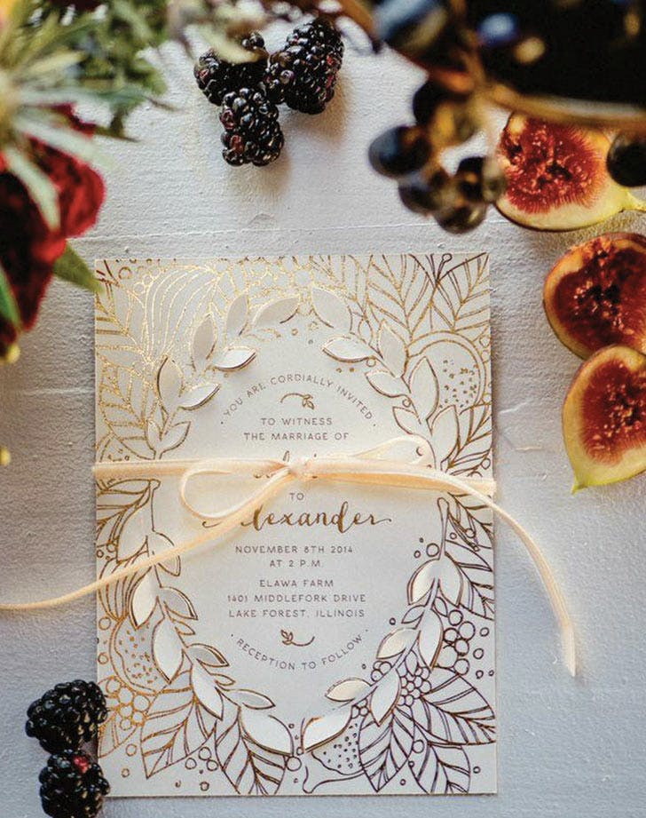 10 wedding invitation ideas that are trending purewow invites1 stopboris Images
