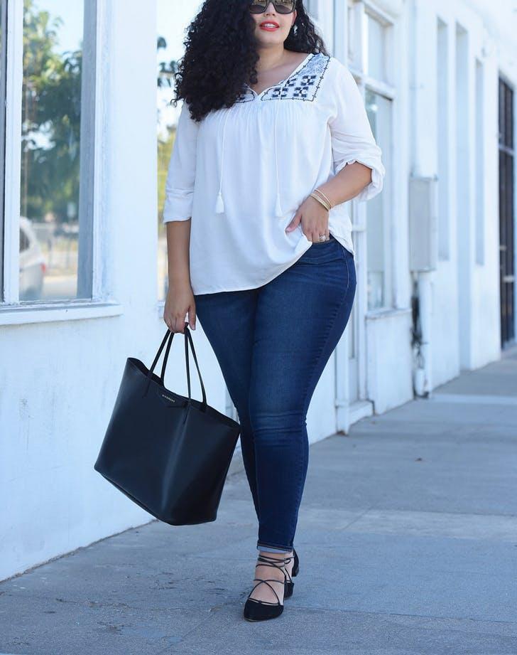 jeans curvy