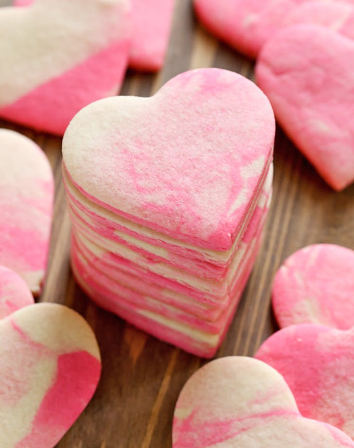marbled sugarcookies