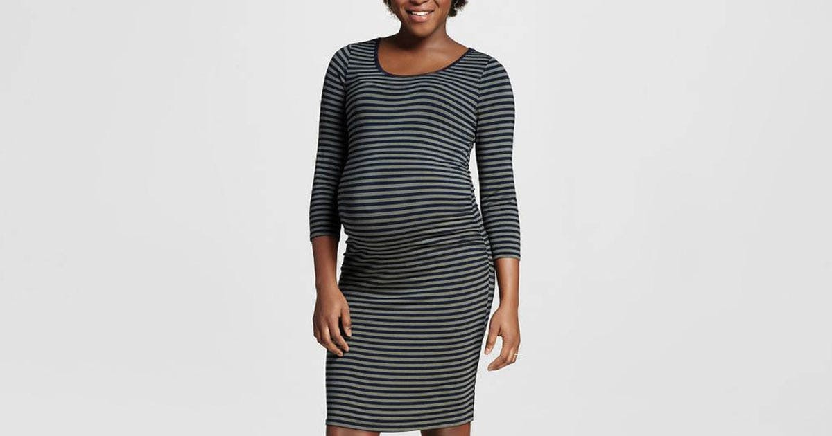 494059c0bec26 The 8 Pieces of Maternity Clothing You Actually Need - PureWow