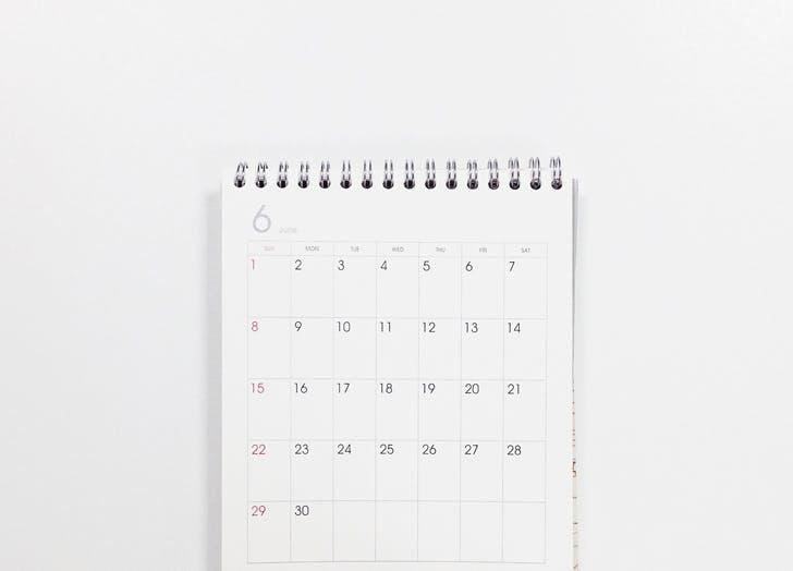 no calendar