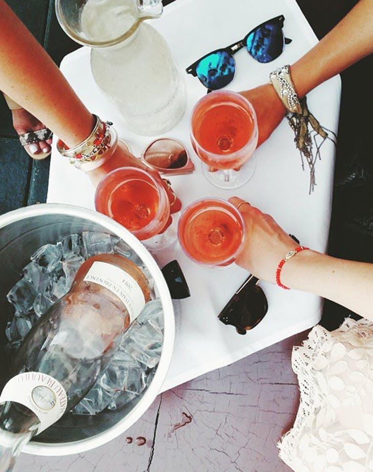 period alcohol