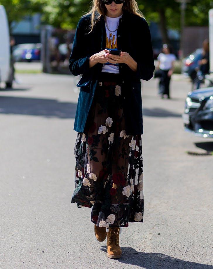 sheer skirt list