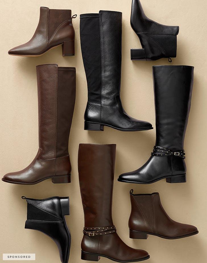 talbots spon boots