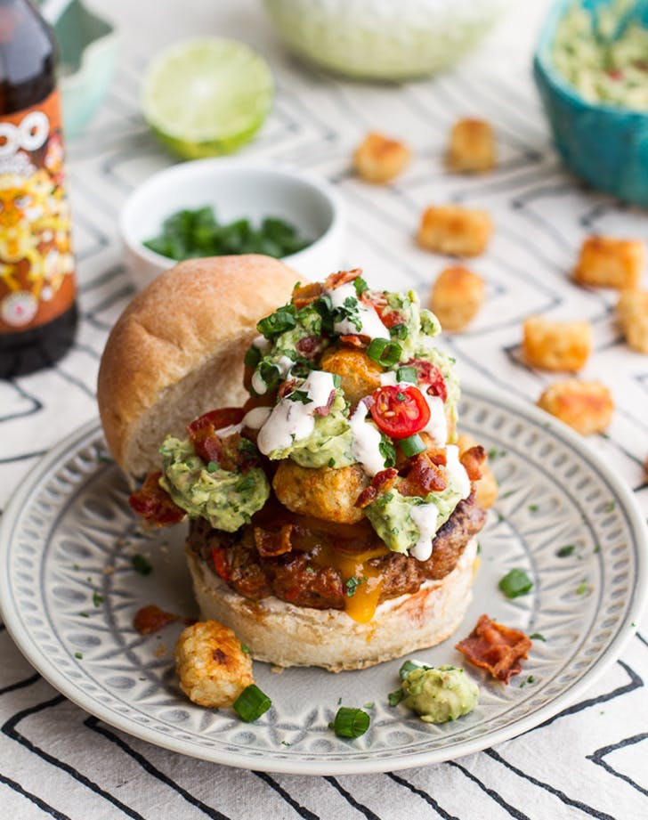 tatertot burger
