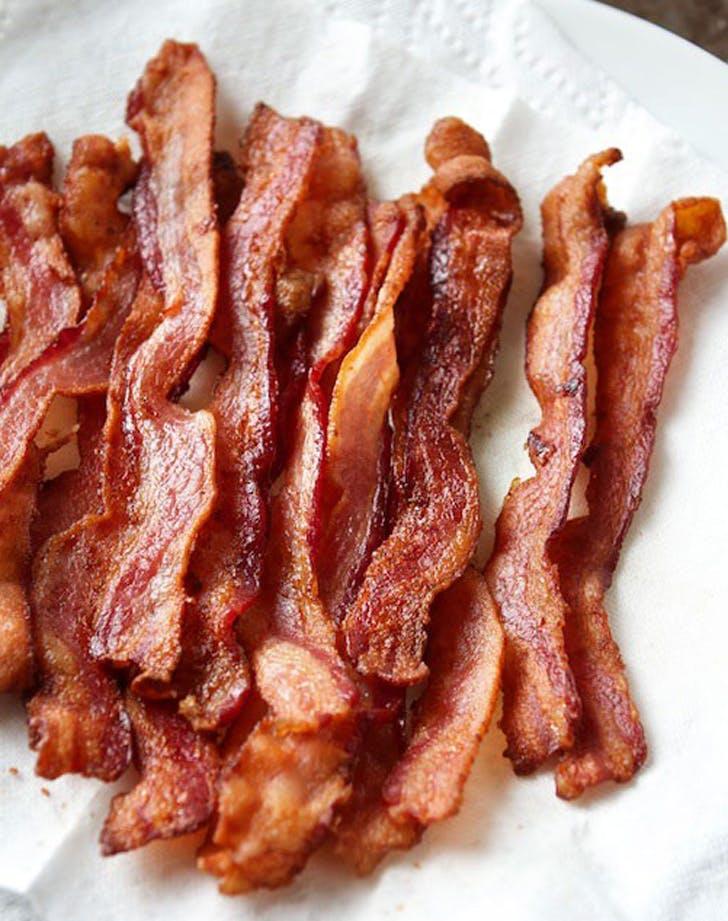 toasteroven bacon