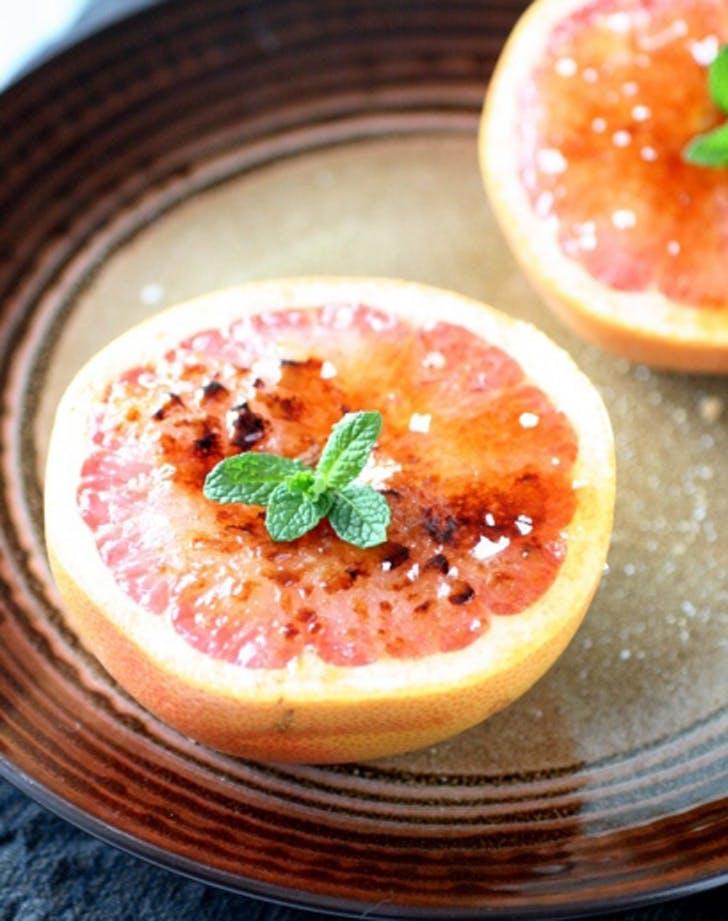 toasteroven grapefruit