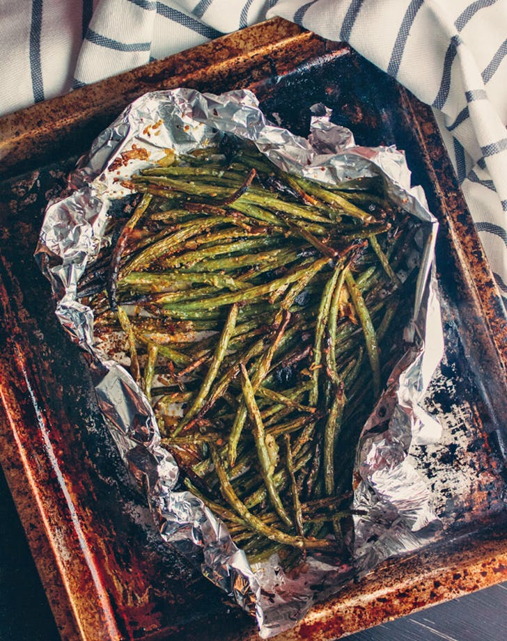 toasteroven greenbeans