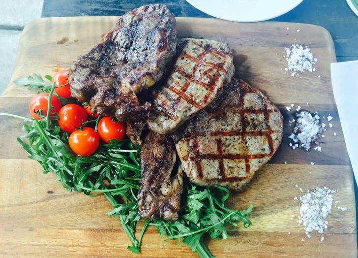 trainerlunch steak