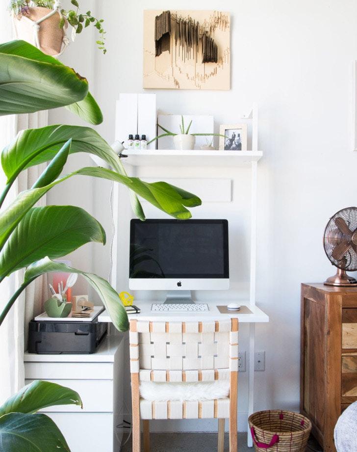 Tiny Office Ideas. Modren Tiny All White Inside Tiny Office Ideas M