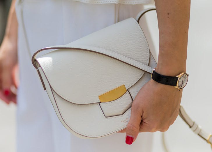 white purse list