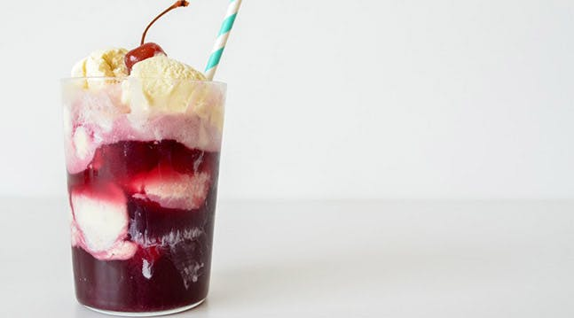Introducing Wine Ice-Cream Floats
