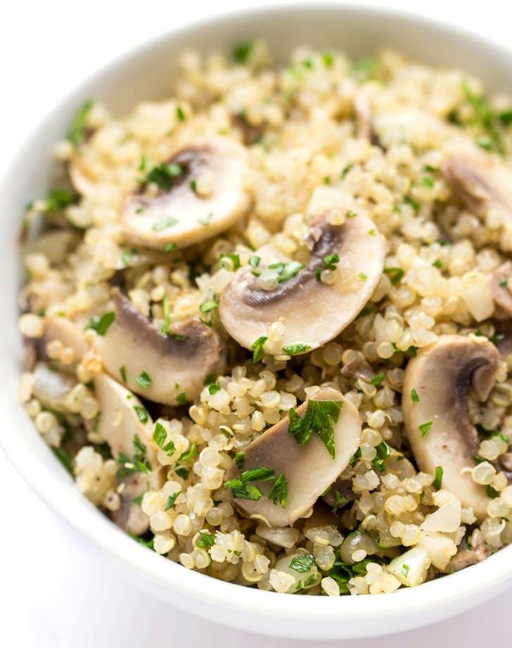 10min quinoa