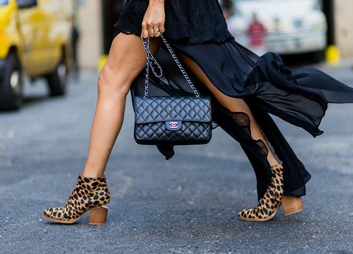NY leopard boots