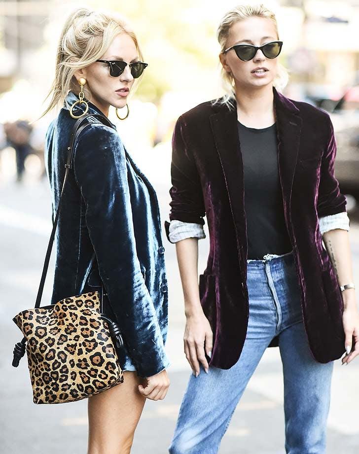 NY leopard purse