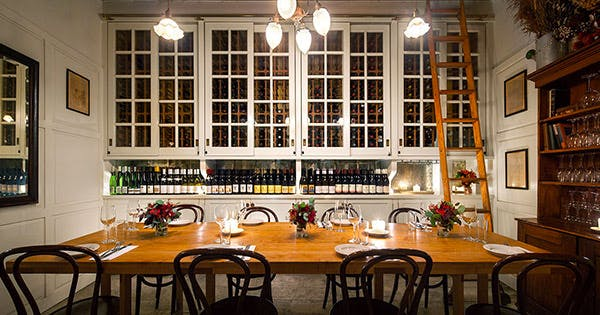 the best private dining rooms in nyc purewow - Private Dining Room