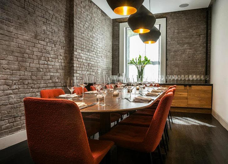 Private Room Dining Nyc Entrancing The Best Private Dining Rooms In Nyc  Purewow Inspiration Design