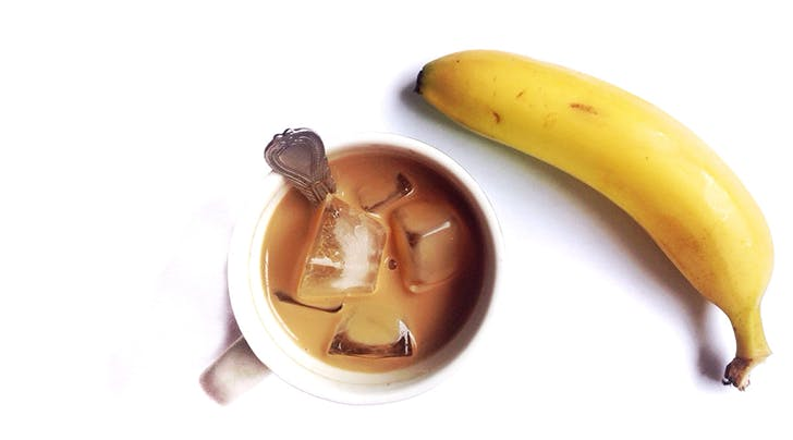Banana-Milk Coffee Is Delicious, Low-Calorie and Super Easy to Make