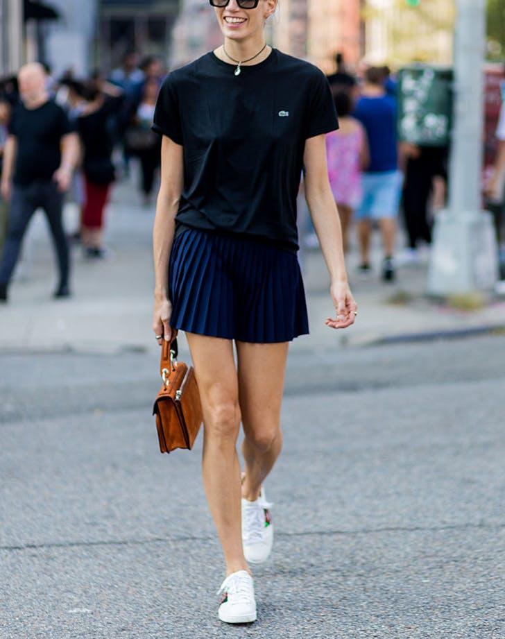 blacktee miniskirt