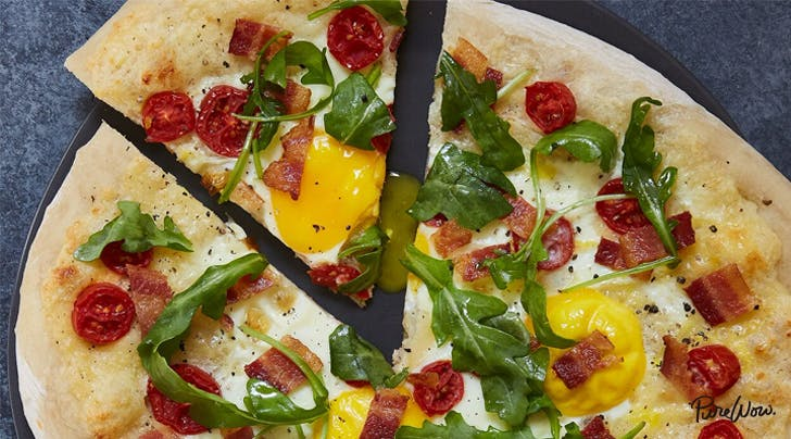 Breakfast Pizza Is the Best Way to Start the Day