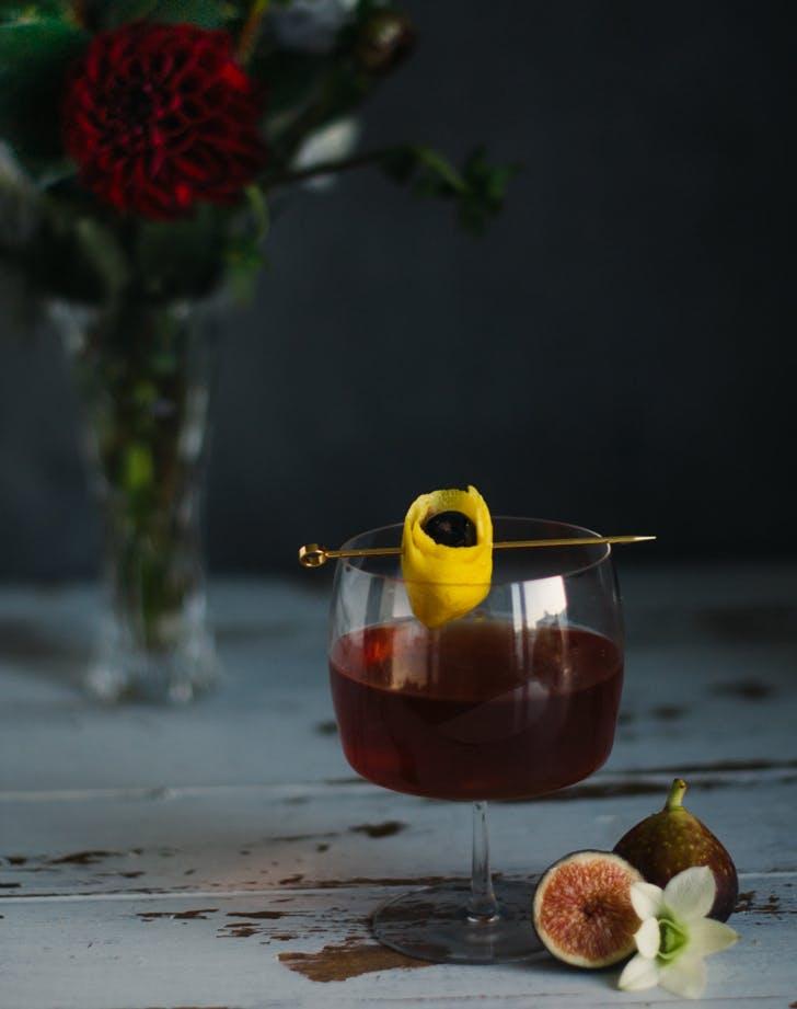 cocktails figmanhattan