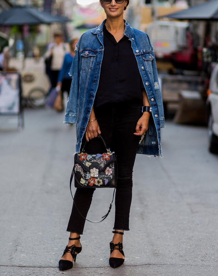 denim longjacket