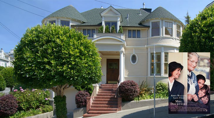 Whos Got $4 Million? The Mrs. Doubtfire House Is For Sale