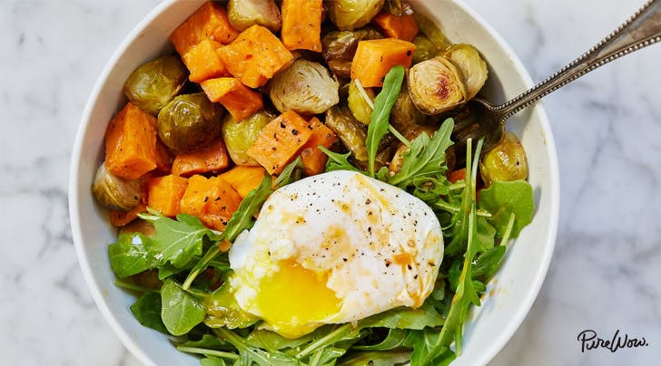 Egg and Veggie Breakfast Bowl