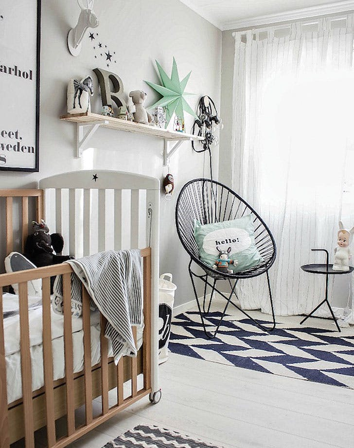 Nursery Design Trends Advice From Celebrity Designer: 8 Gender-Neutral Nursery Décor Trends