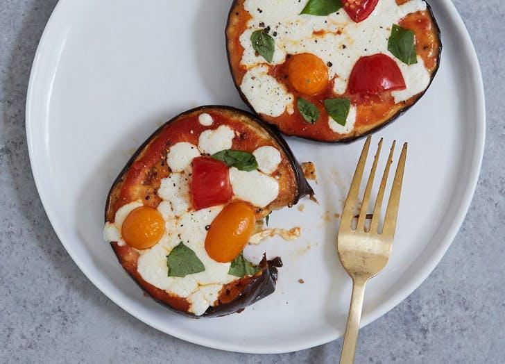 pizza eggplant