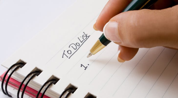 The Trick to Making Sure Your To-Do List Actually Gets Done