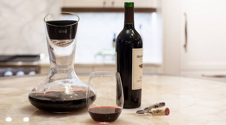 This Brita for Wine Solves Your Red Wine Hangover Problem