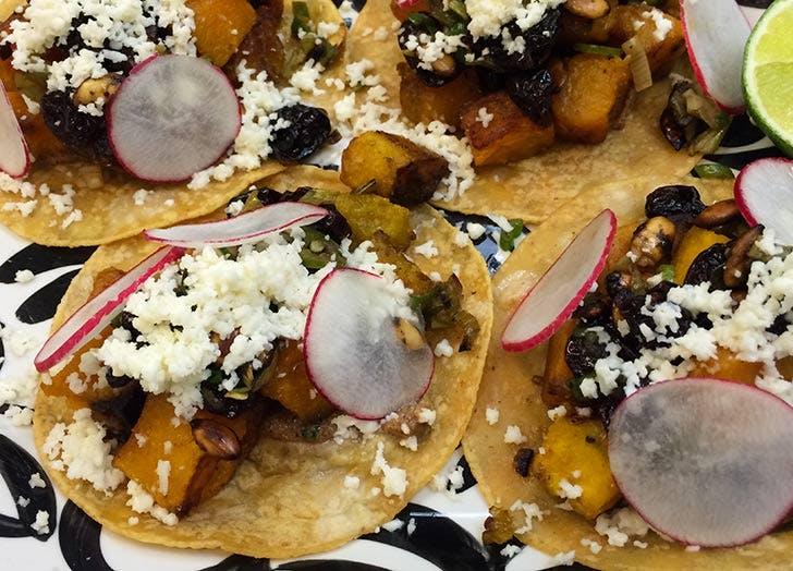 NY falldishes tacos