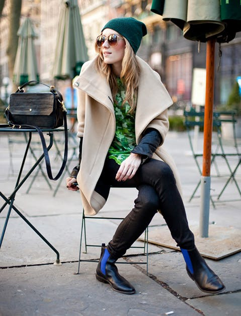 Embrace the Flat Ankle Bootie - How To Wear Ankle Boots With Skinny Jeans Fashion Purewow