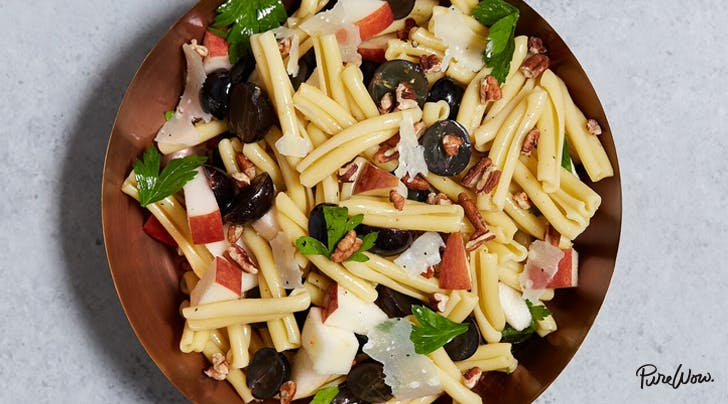 Apple, Grape and Pecan Pasta Salad