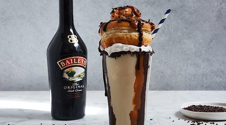 Baileys Coffee and Donut Milkshake