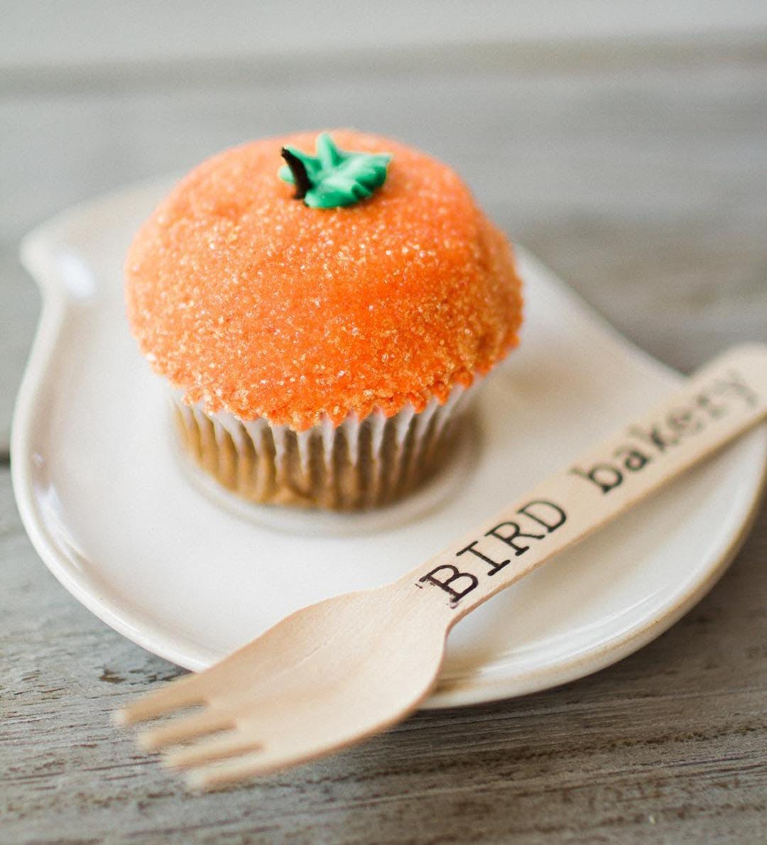 bird bakery cupcake