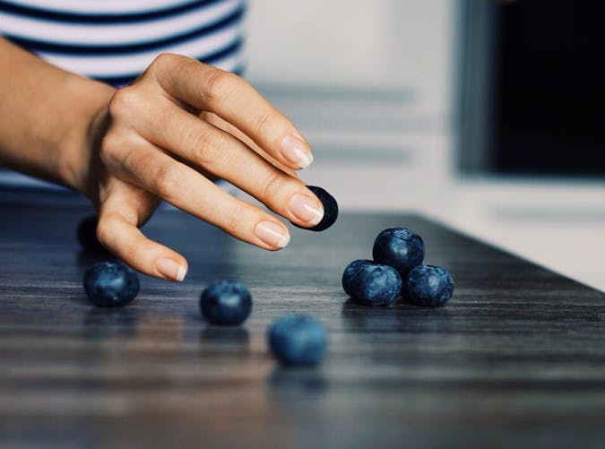 breastfeeding blueberries