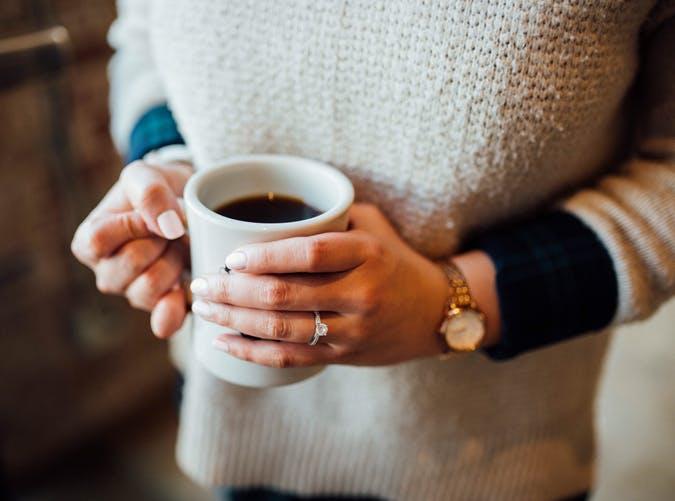breastfeeding coffee