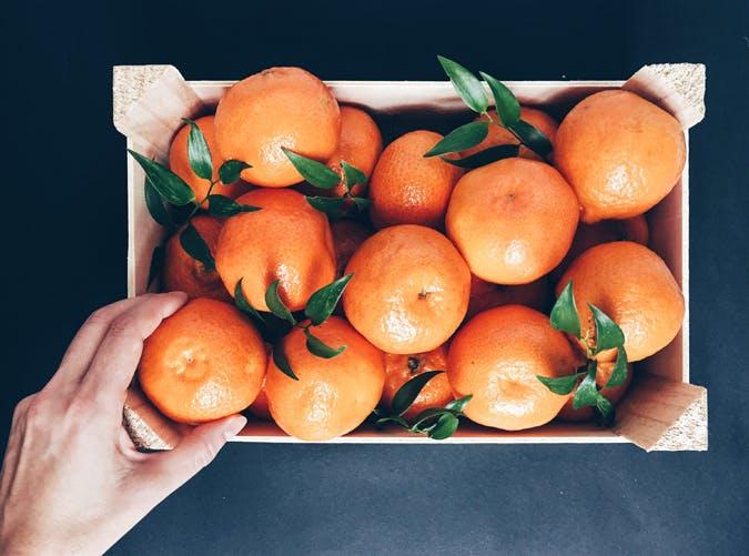 breastfeeding oranges