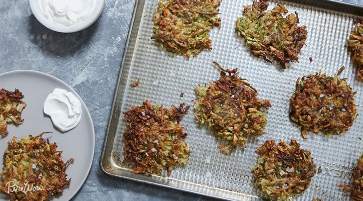 Brussels Sprouts Latkes Are the Ultimate Side Dish