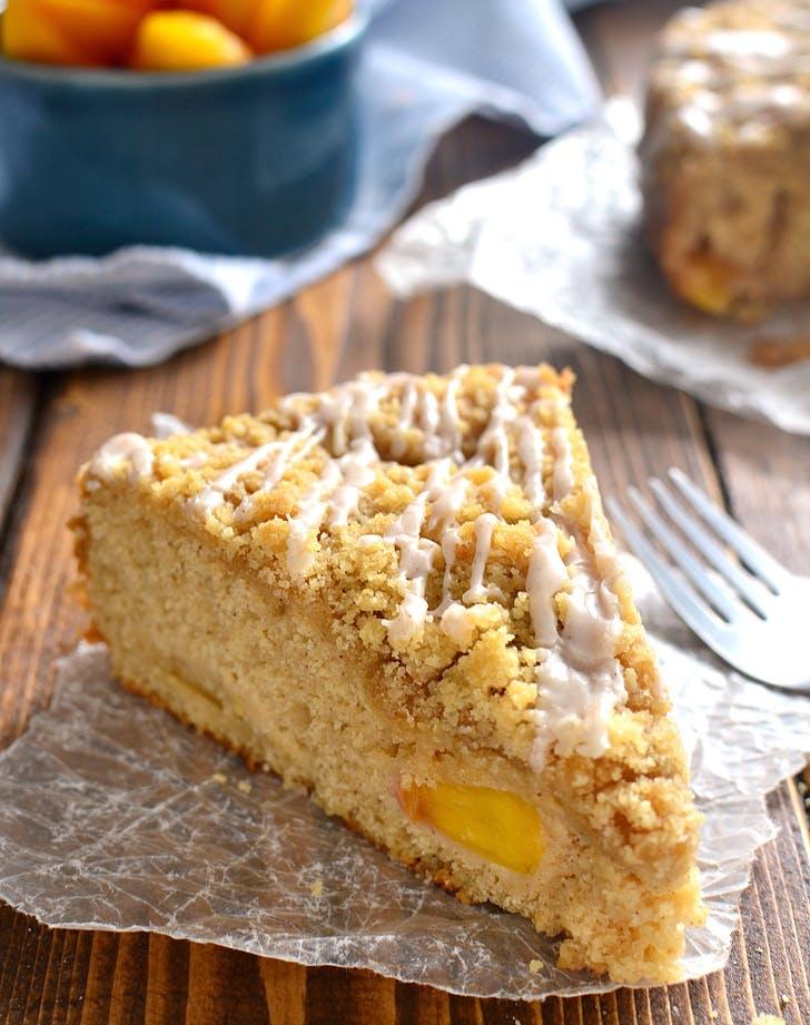 cake peachcobbler