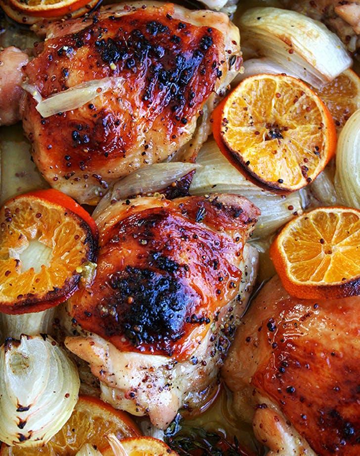 dinner clementinechicken