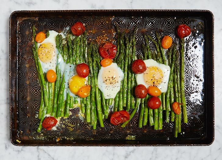 dinner eggsasparagus