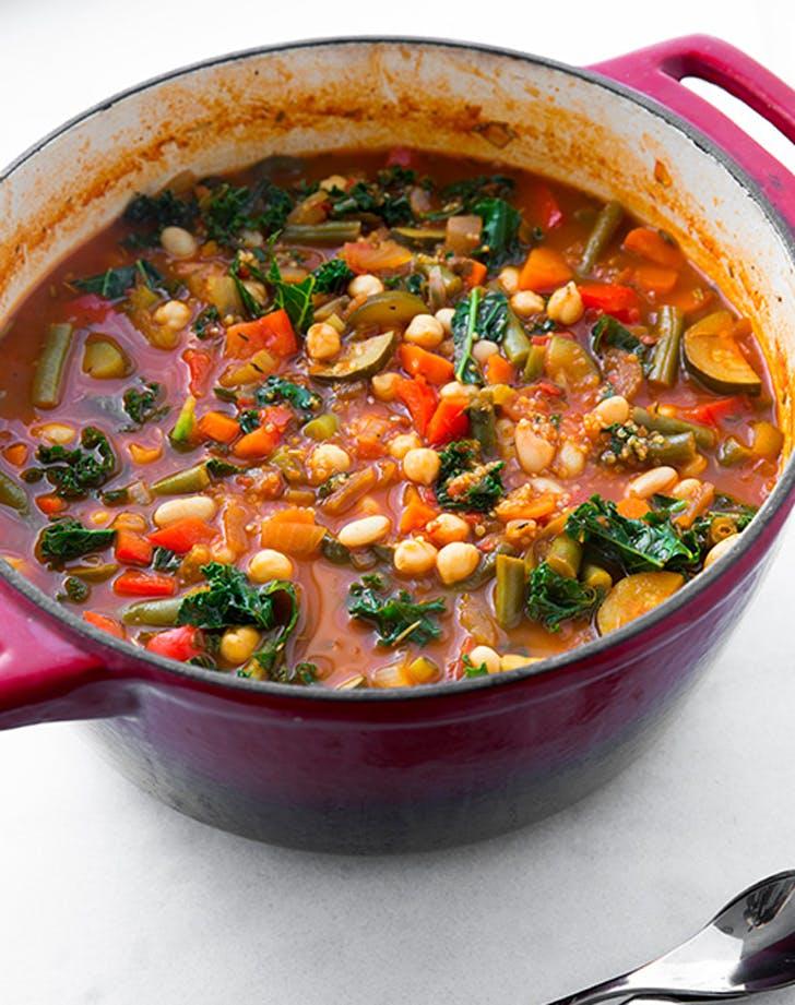 dinner minestrone