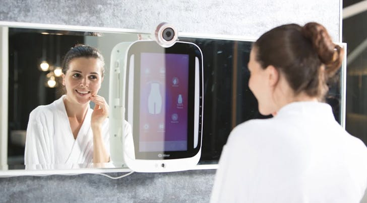 Uh, This New Mirror Can Track Your Wrinkles