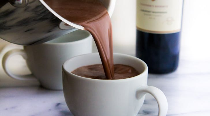How to Make Red Wine Hot Chocolate